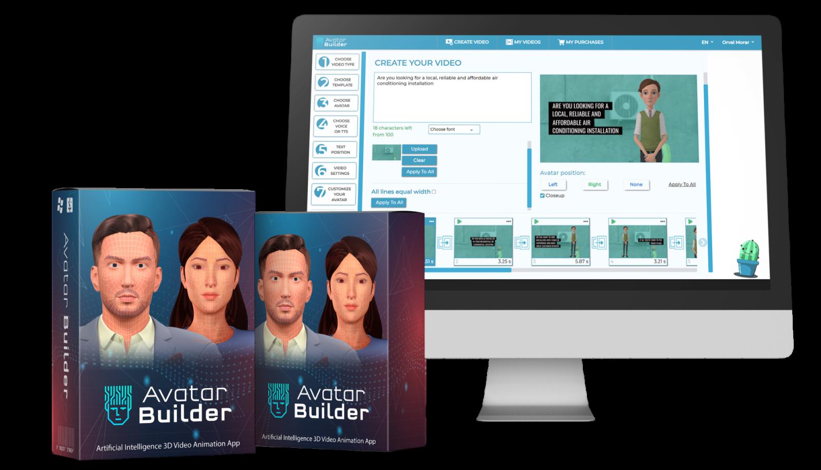 AvatarBuilder Software